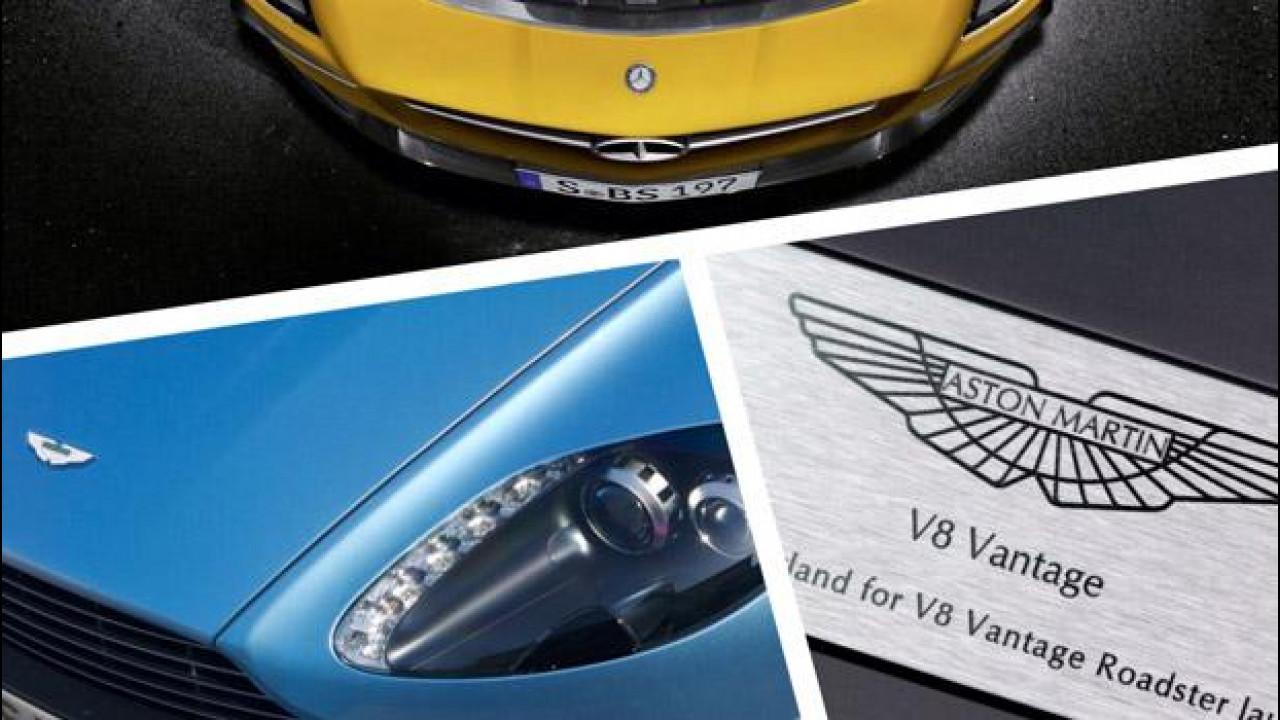 [Copertina] - Aston Martin e Mercedes AMG, firmata l'alleanza