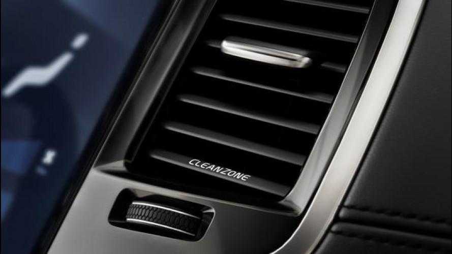 Volvo XC90, niente puzza sotto il naso
