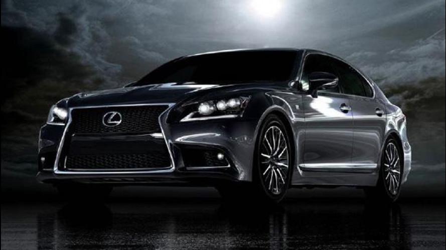 Nuova Lexus LS: la prima foto
