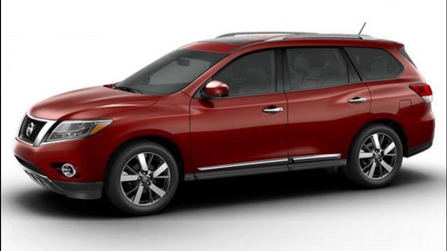 La nuova Nissan Pathfinder si svela su Facebook