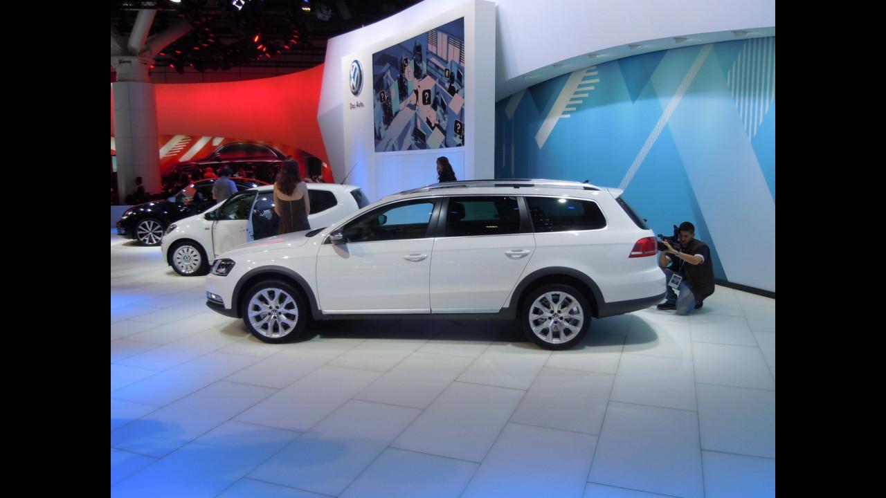 La Volkswagen Passat Alltrack al Motor Show di Bologna 2011