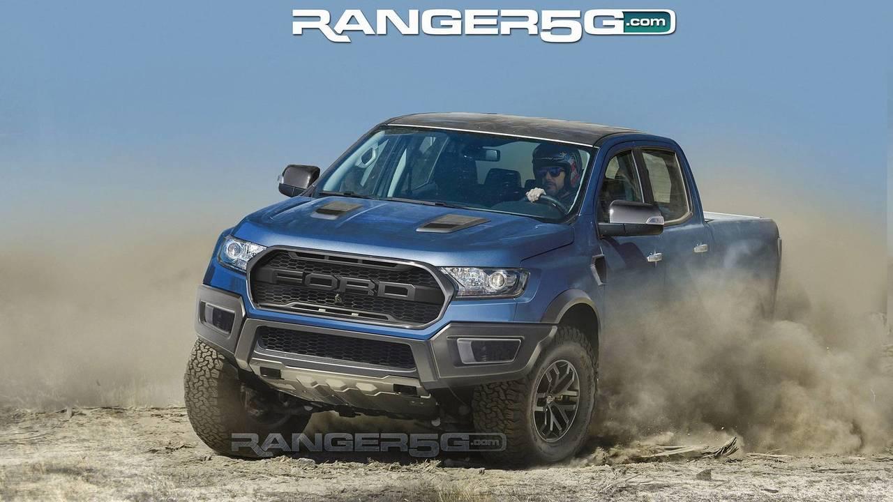 Ford Ranger Raptor render