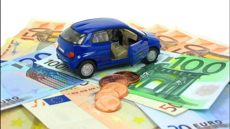 Quante tasse paghiamo usando l'automobile?