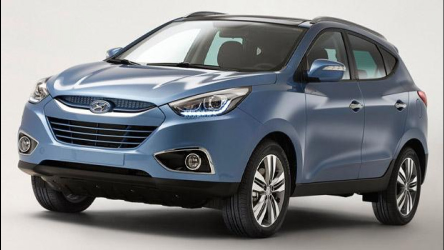 "Hyundai ix35 ""Model Year 2014"""