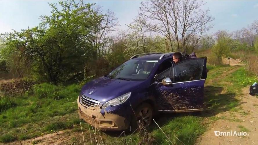 Peugeot 2008, anche nel fango con il Grip Control