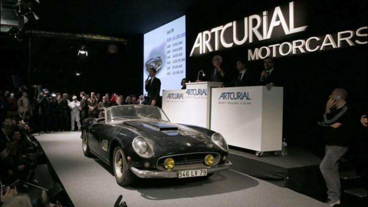 [Copertina] - Incredibile la Ferrari di Alain Delon, da dispersa a superstar