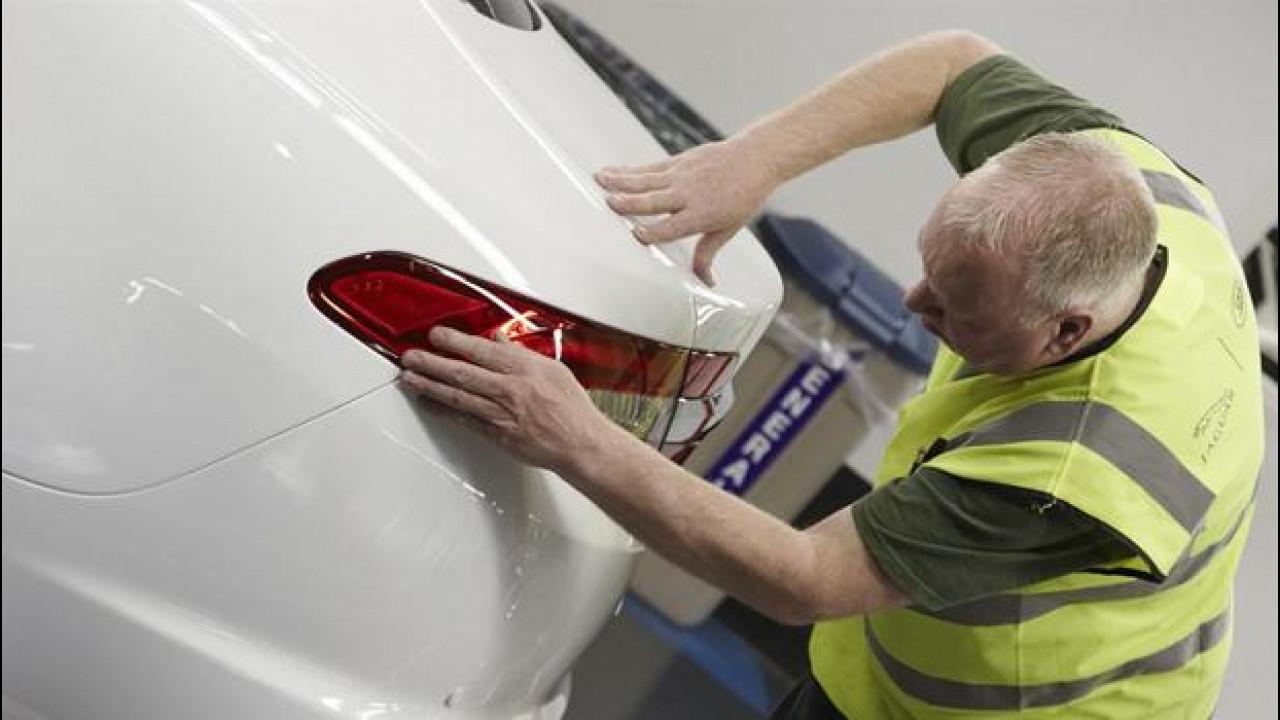[Copertina] - Jaguar, 1.100 posti di lavoro per i nuovi modelli