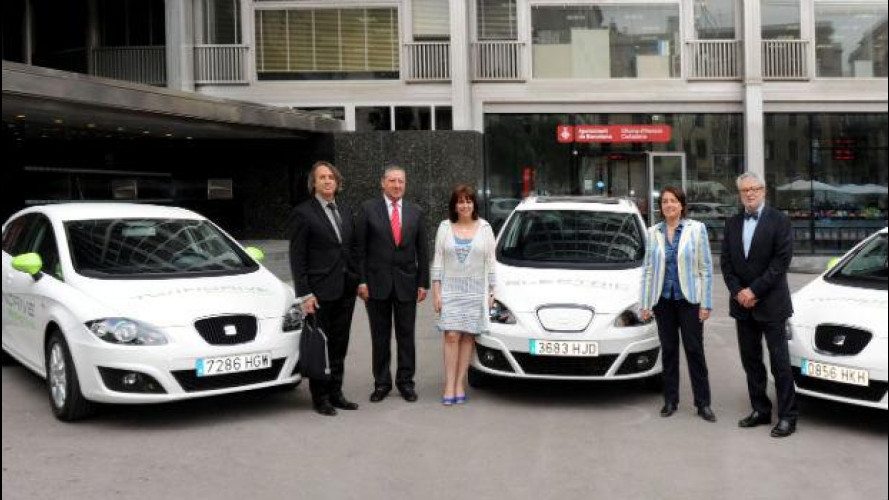 Auto elettriche ed ibride, Seat le testa a Barcellona