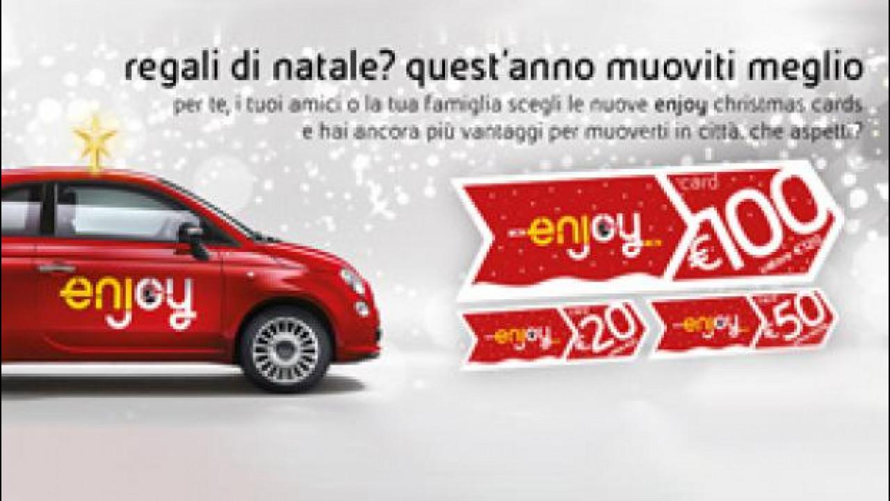 [Copertina] - Il car sharing di Enjoy diventa un regalo di Natale