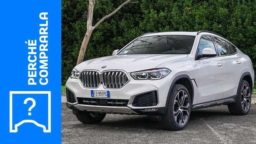 BMW X6, perché comprarla e perché no