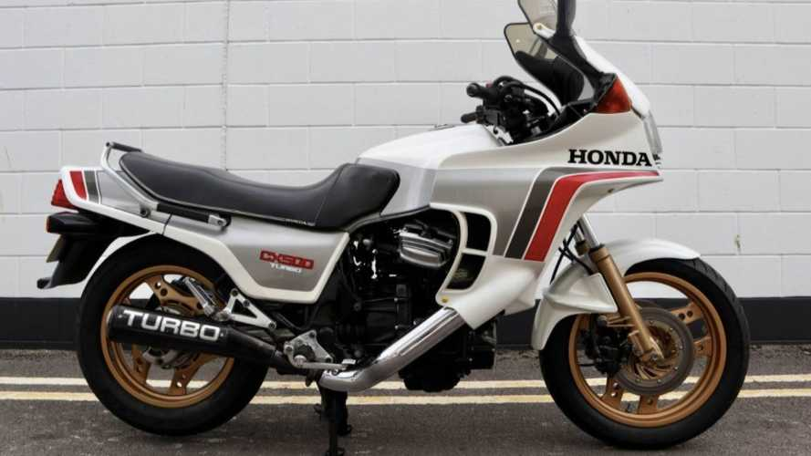 This All Original Honda CX500 Turbo Is Up For Grabs