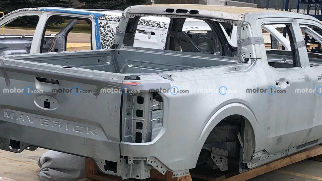 Кузов пикапа Ford Maverick