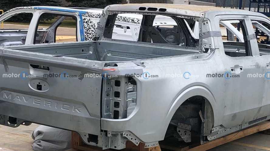 Раскрыт кузов совершенно нового пикапа Ford Maverick