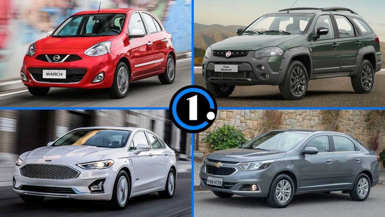 Lista - Carros que saíram de linha em 2020