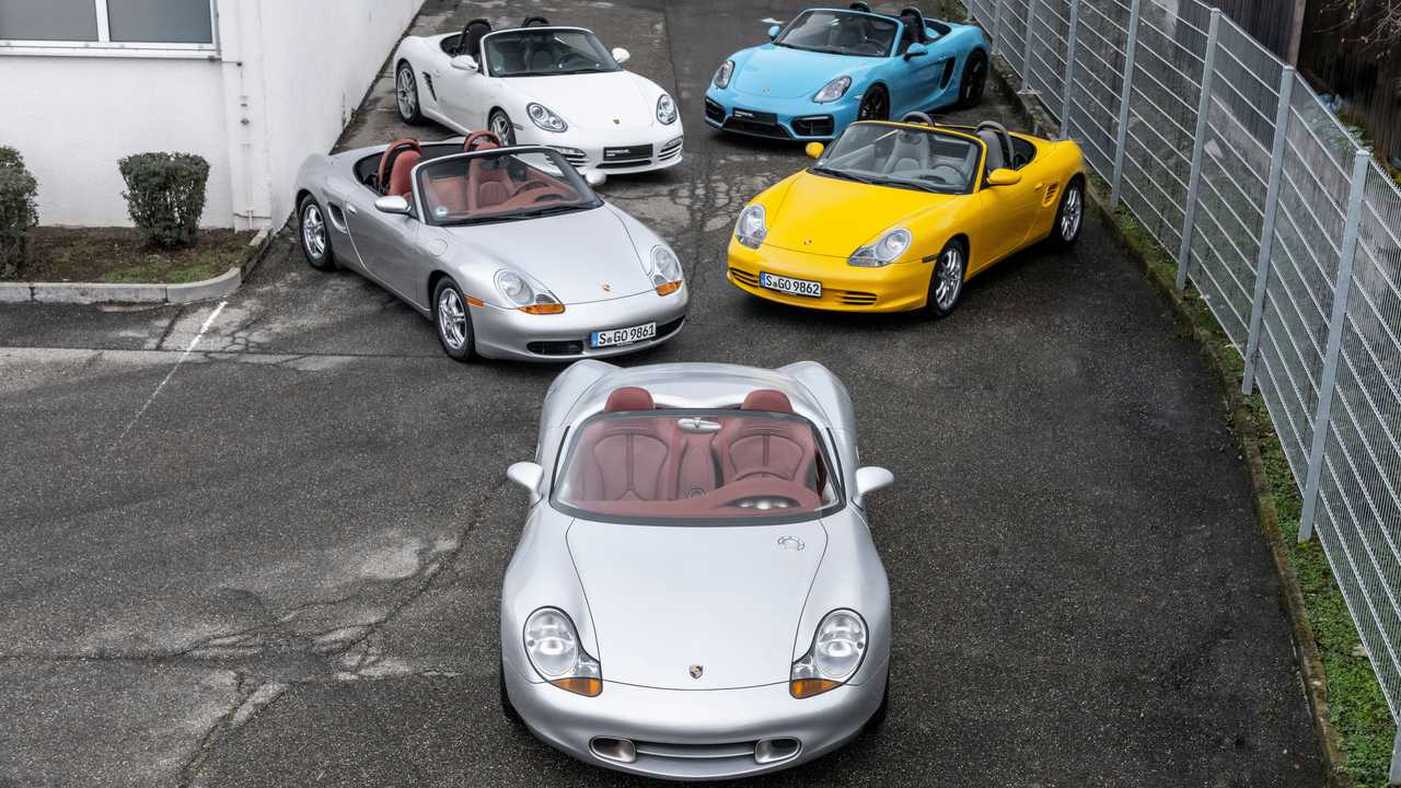 25 años de historia del Porsche Boxster