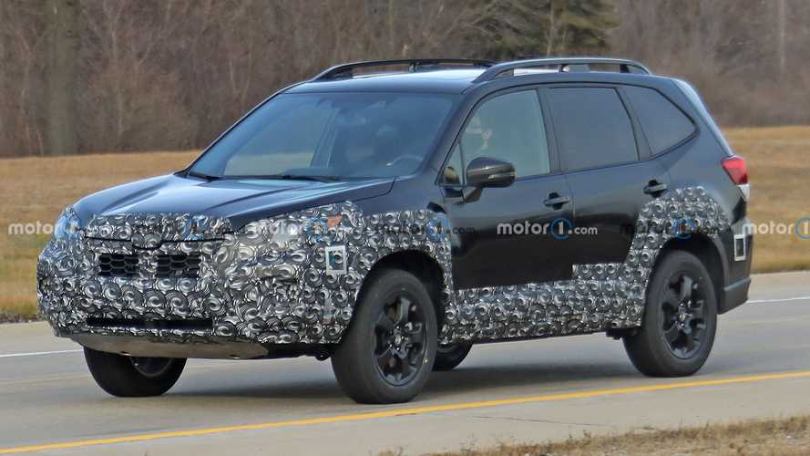 2022 Subaru Forester Facelift Spied For The First Time