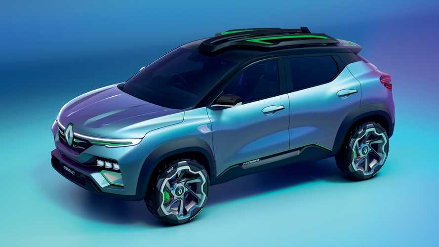 Renault Kiger debuts as petite crossover with weird door handles