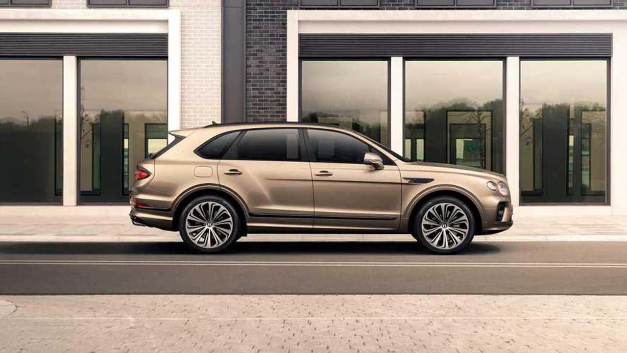 Új Bentley Bentayga Hybrid
