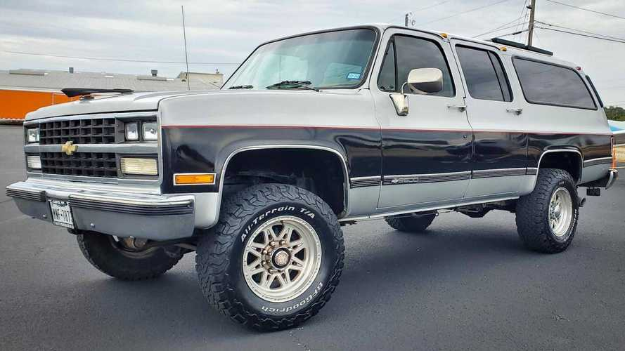 This Good-Looking 1989 Chevy Suburban Camper Could Be Yours