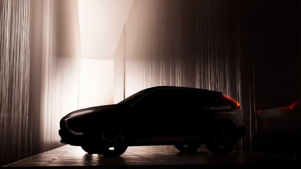 Тизер Mitsubishi Eclipse Cross 2021