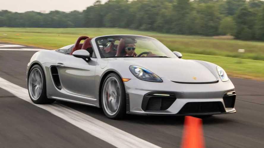 Teen Driver Slalom Record Porsche