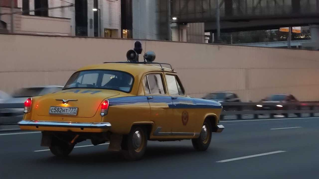 ГАЗ-21 «Волга» из ГАИ