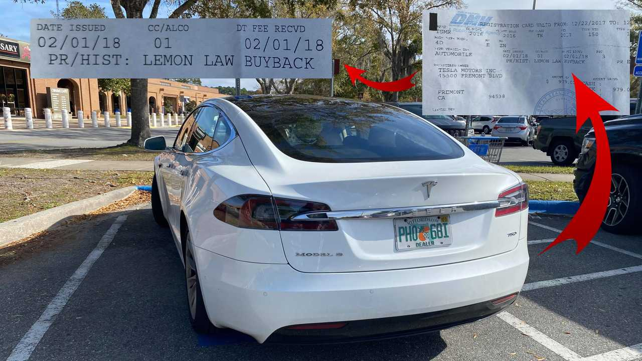 Tesla Lemon Cars Are Turning Into Loaners In The US And Norway
