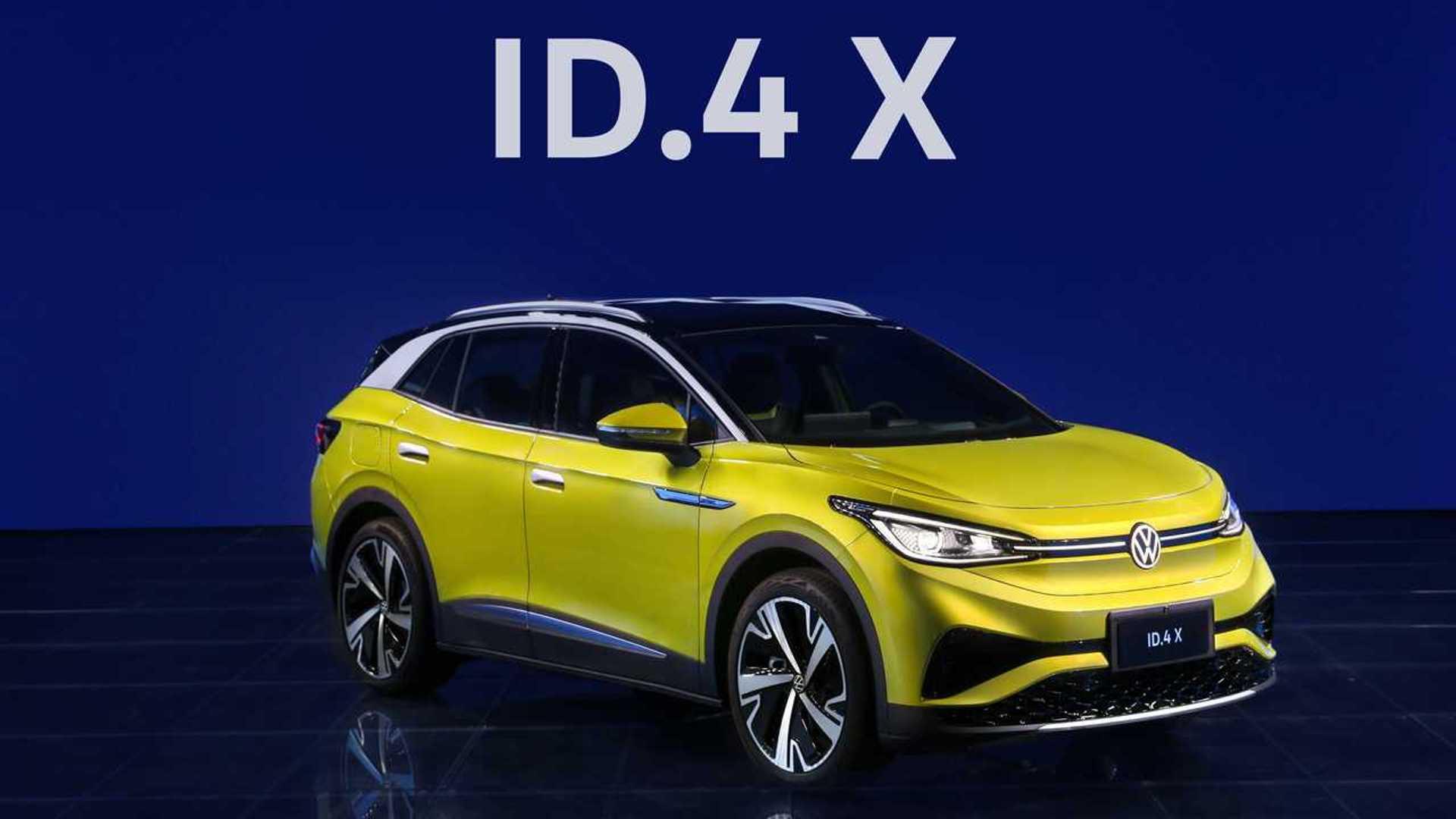 SAIC Volkswagen's ID.4 X