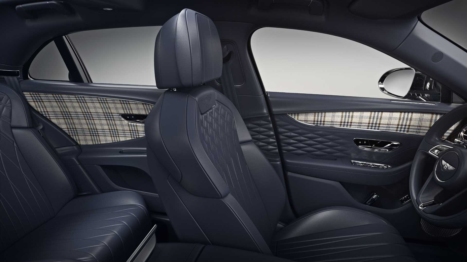 Bentley's New Tweed Interior Option Is The Most British Thing Ever