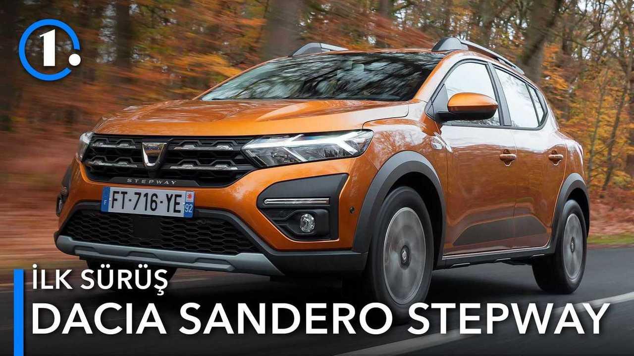 2020 Dacia Sandero Stepway İlk Sürüş Kapak Görseli