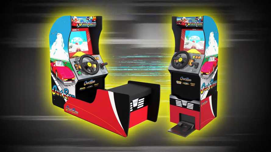 Retro OutRun Sit-Down Arcade Cabinet Is A $499 '80s Time Machine