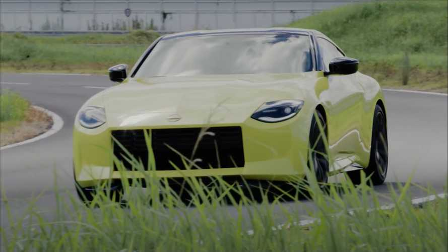 Watch Nissan's Boss Drive The New Z, He Calls It 'Fantastic'