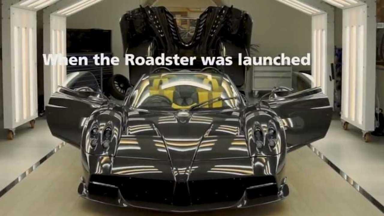 Final Pagani Huayra Roadster