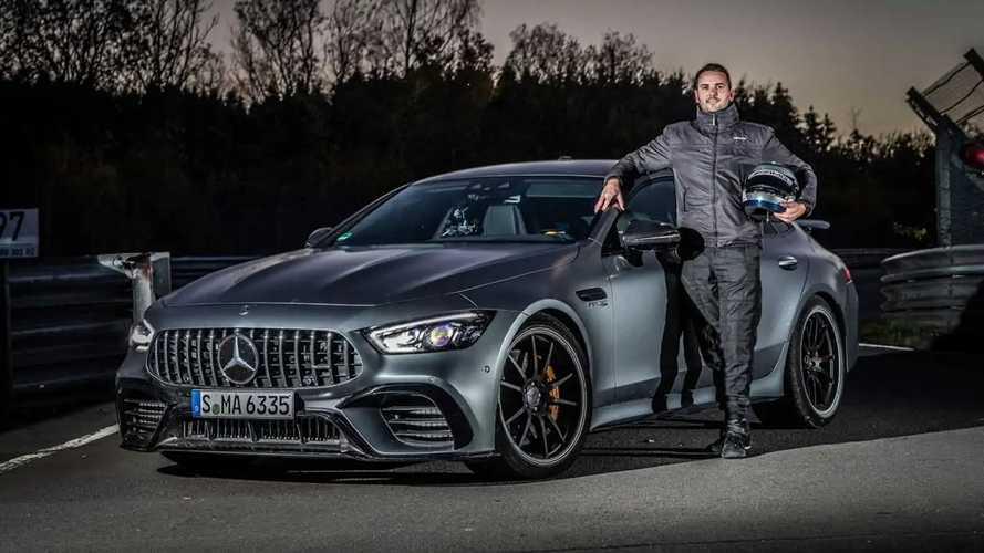 Mercedes-AMG GT 63 S 4-Door Coupe поставил рекорд Нюрбургринга