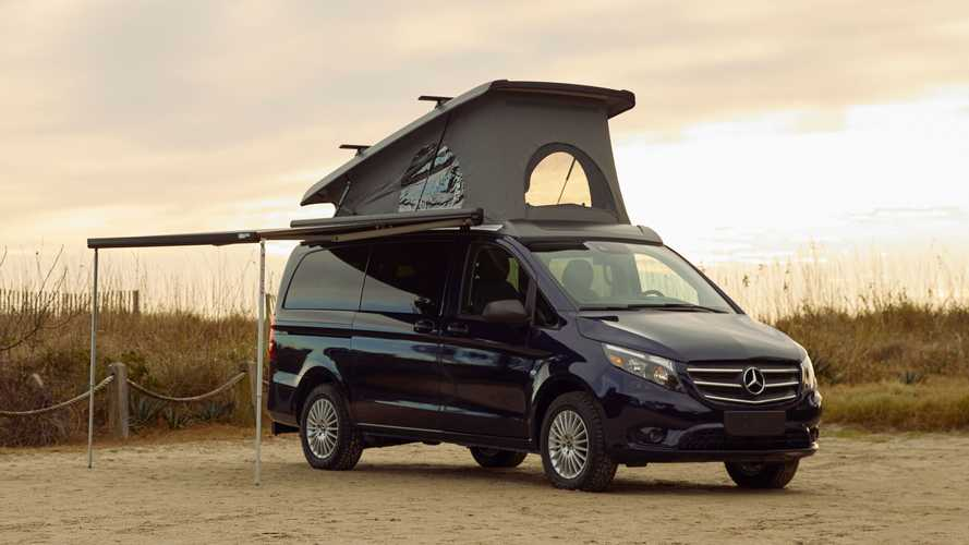 Mercedes Metris Getaway Is A Camper-Friendly With Pop-Up Roof Tent