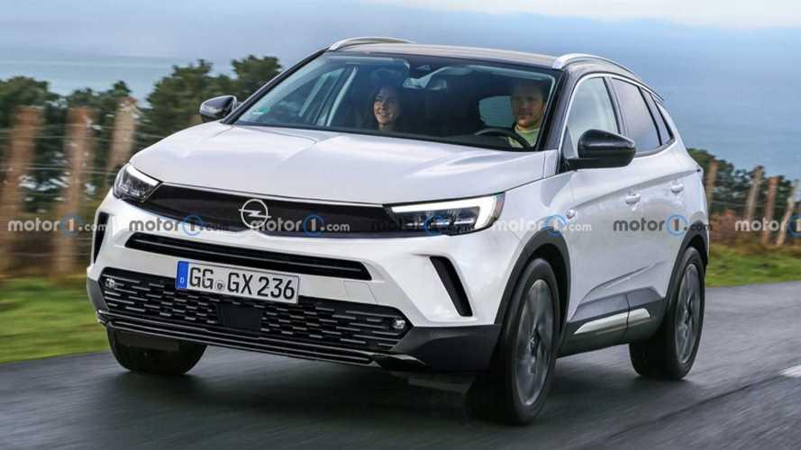 Makyajlı Opel Grandland X böyle görünebilir
