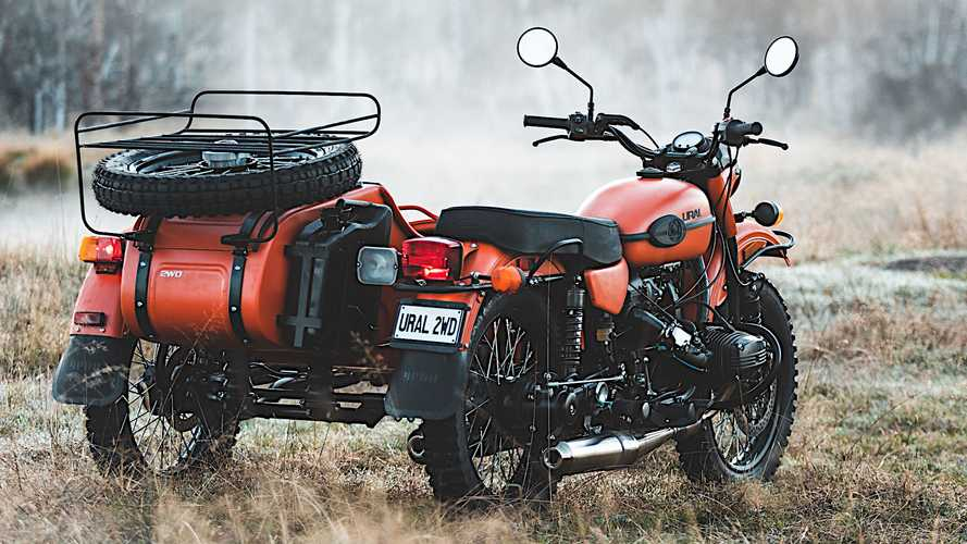 Ural Gear Up 2WD - Right-Hand Drive Countries