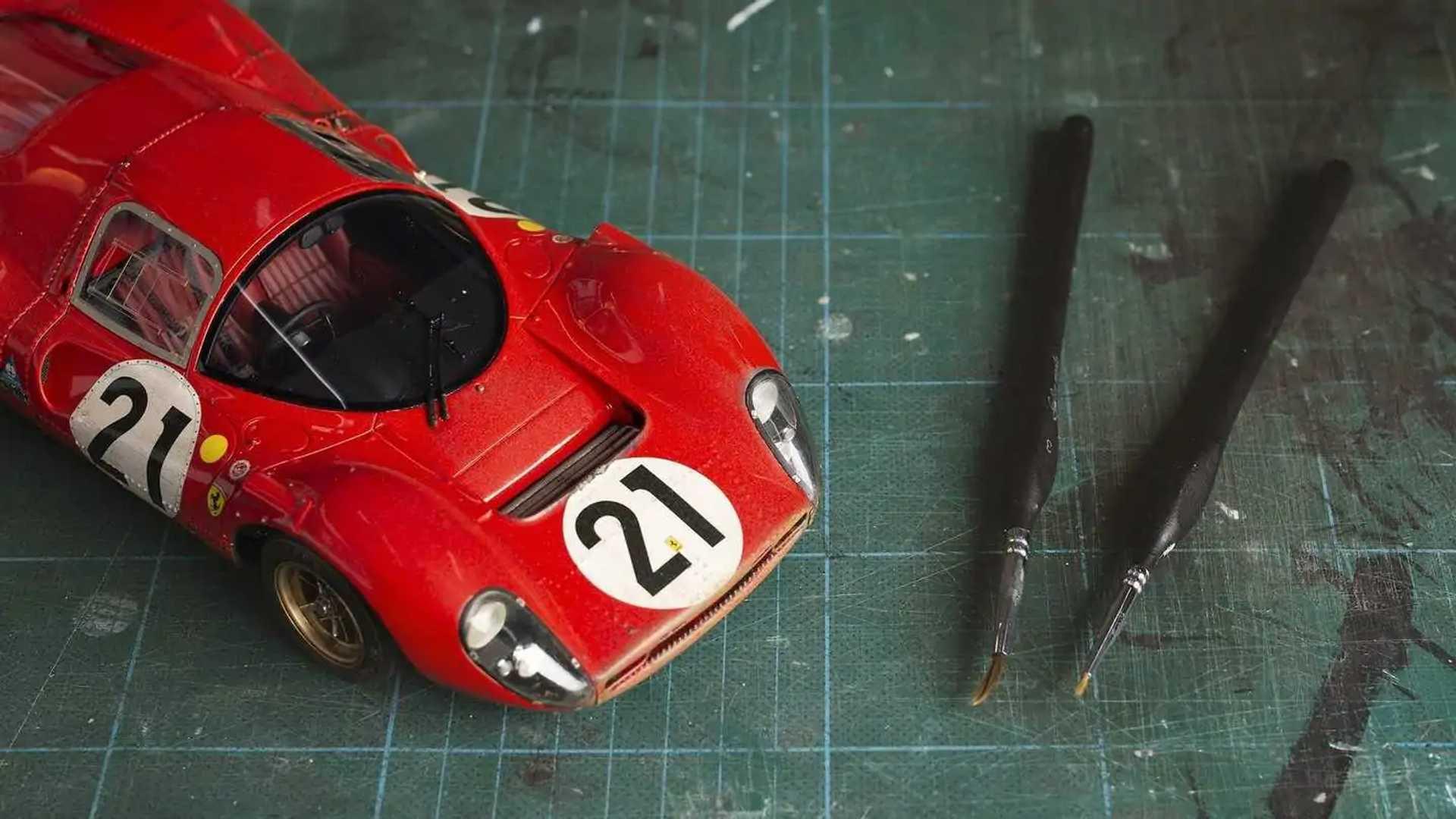 Amalgam Race-Weathered Ferrari 330 P4