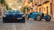 Bugatti Divo And Type 35 In Targa Florio