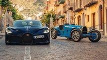 Bugatti Divo And Type 35 In Targa Florio