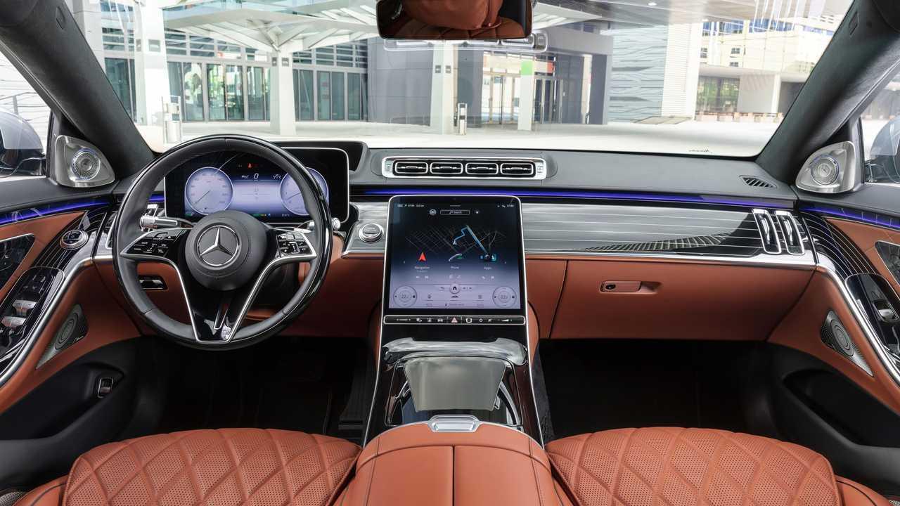 Intérieur de la Mercedes-Benz Classe S 2021