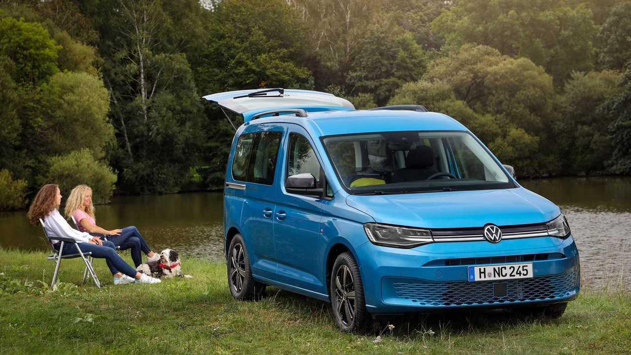 Volkswagen Caddy California: Entspannung am Seeufer mit ...