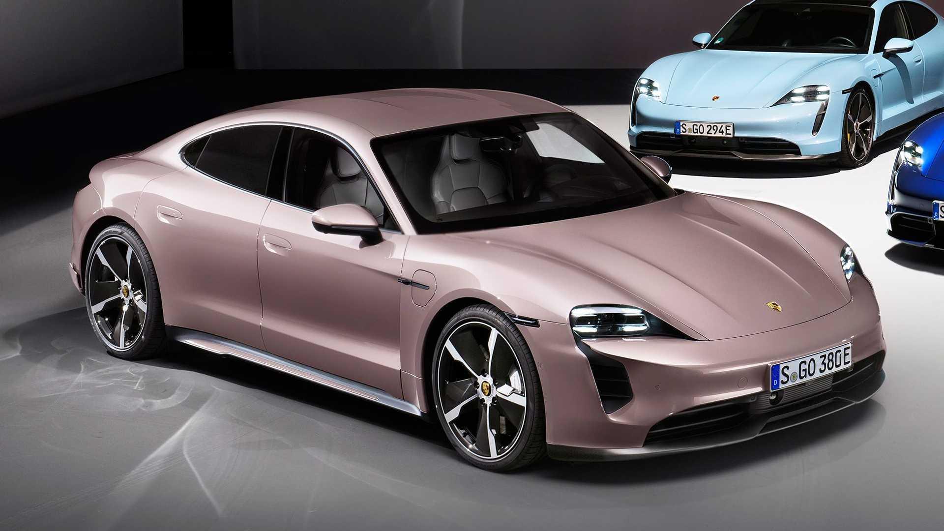 Porsche Taycan - Une version d'entrée de gamme à 86'254 €