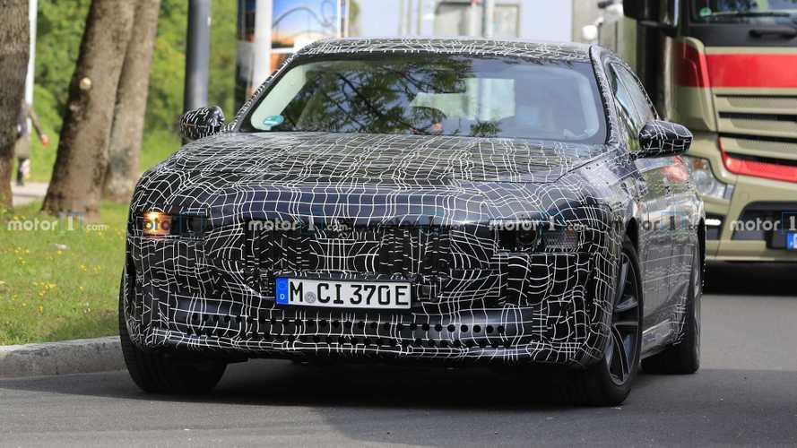 BMW i7 Spy Foto