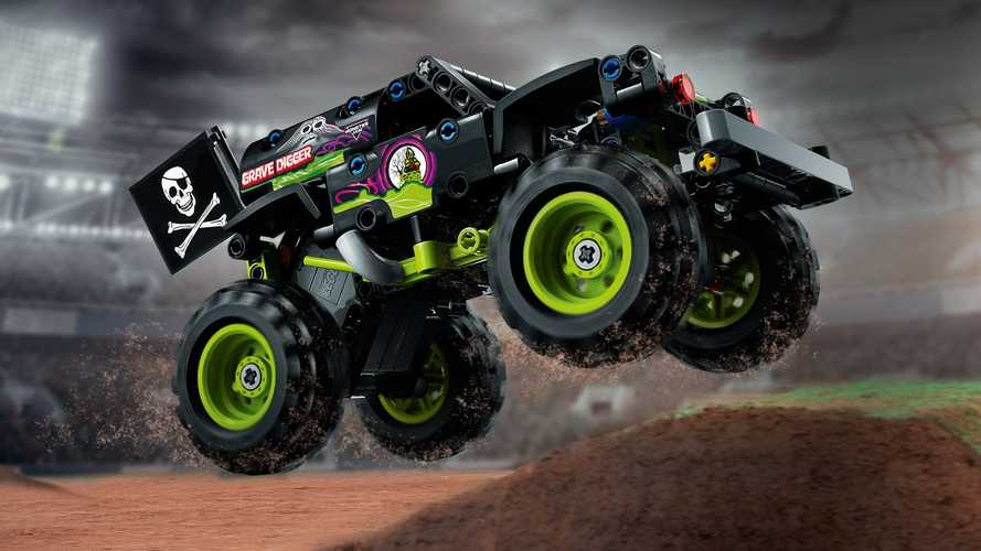 Grave Digger, Max-D Monster Trucks To Get Lego Technic Kits