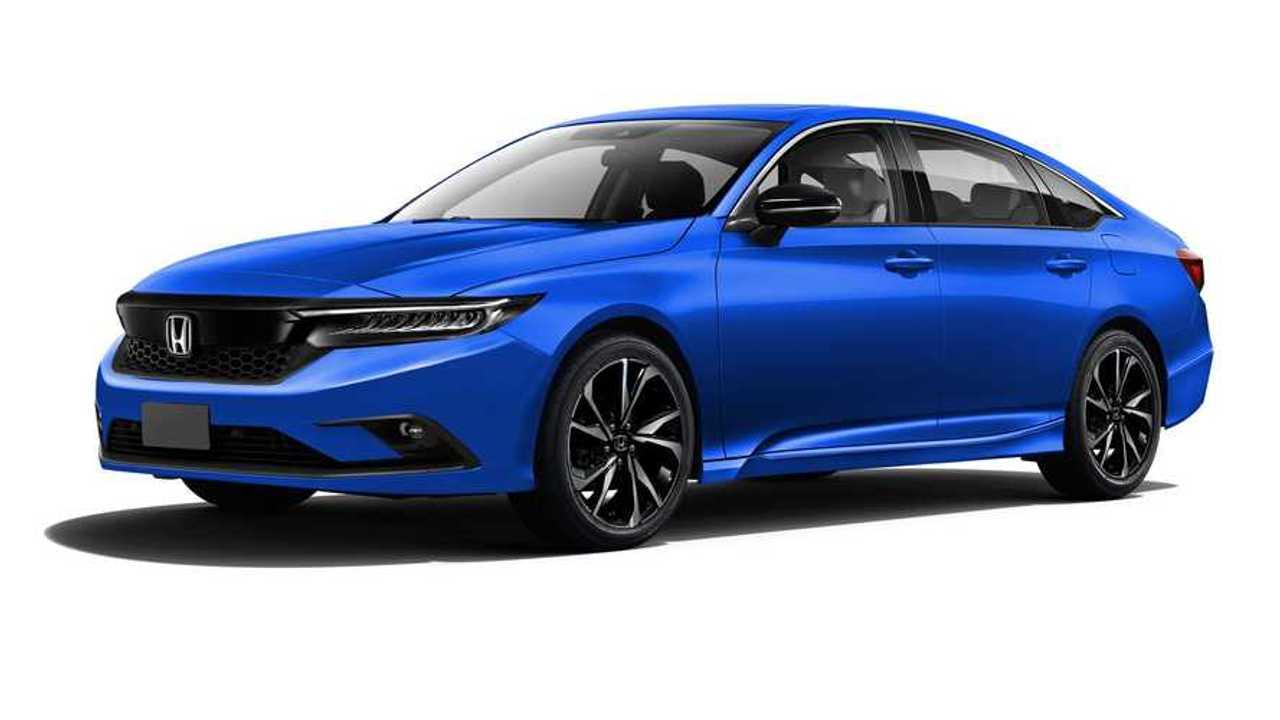 2022 Honda Civic Sedan Rendering Front