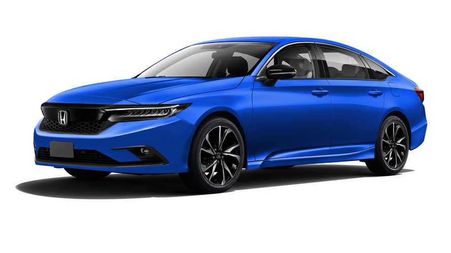2022 Honda Civic Sedan Rendered Looking Ready For Production