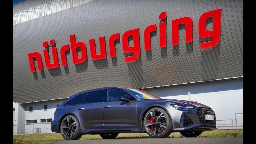 Audi RS6 Avant Nürburgring Turu