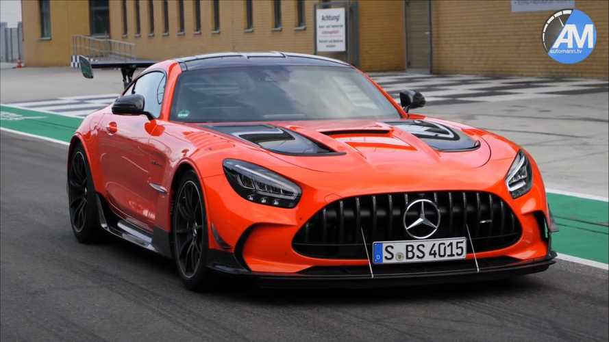 Witness the Mercedes-AMG GT Black Series' brutal acceleration