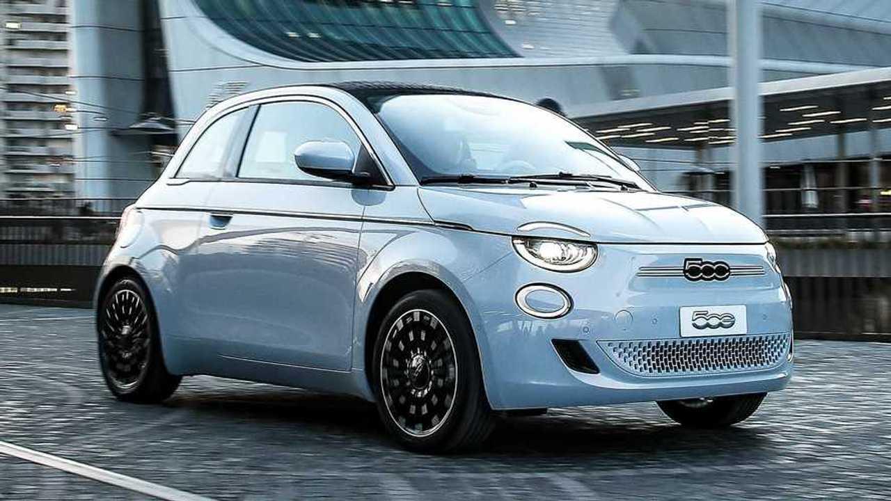 Fiat 500e 2021, apertura